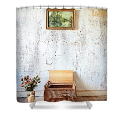 Abandoned Memories -urbex Shower Curtain