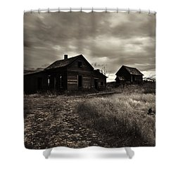 Abandoned Shower Curtain by Mike  Dawson