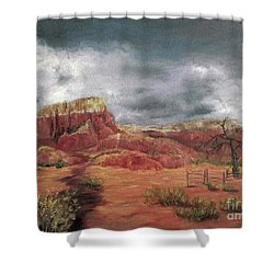 Abandoned  Ranch Shower Curtain