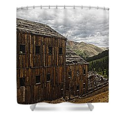 Abandoned Silver Mine Shower Curtain