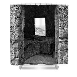 Abandoned Windmill Shower Curtain by Gaspar Avila