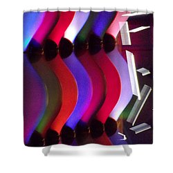 Abstract1 Shower Curtain by John Wartman