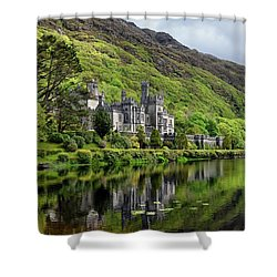 Abbey By The Lake Shower Curtain