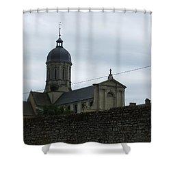 Abbey De Juaye Mondaye Shower Curtain