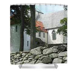 Abbey Exterior #2 Shower Curtain