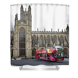 Abbey In Bath, Uk Shower Curtain