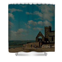 Abbeyside Church Shower Curtain