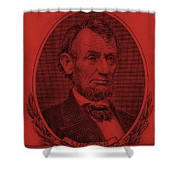 Shower Curtain featuring the photograph Abe On The 5 Orange by Rob Hans