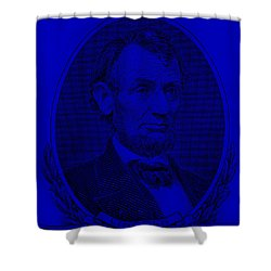 Shower Curtain featuring the photograph Abe On The 5 Violet by Rob Hans