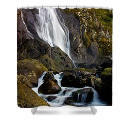 Aber Falls 2 Shower Curtain