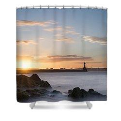 Aberdeen Sunset Shower Curtain