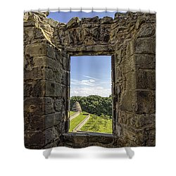 Shower Curtain featuring the photograph Aberdour Castle by Jeremy Lavender Photography