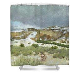 Abiquiu In Winter Shower Curtain