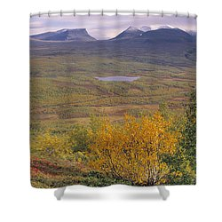 Abisko Nationalpark Shower Curtain