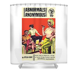 Abnormals Anonymous Shower Curtain