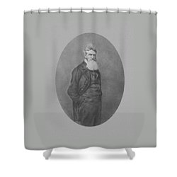 Abolitionist John Brown Shower Curtain by War Is Hell Store