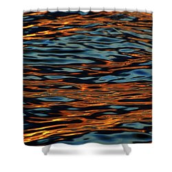 Above And Below The Waves  Shower Curtain by Lyle Crump