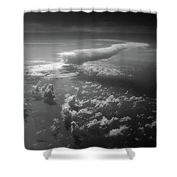 Above Earth 1 Shower Curtain by Cedric Hampton