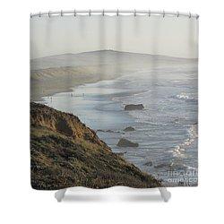Looking Toward San Francisco Shower Curtain