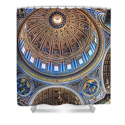 Above Saint Peters Shower Curtain
