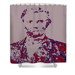 Abraham Lincoln 4c Shower Curtain by Brian Reaves