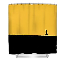 Abraham's Journey Shower Curtain