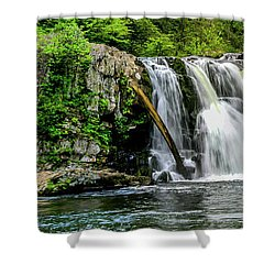 Abram Falls Shower Curtain