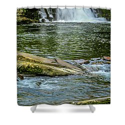 Abrams Falls 2 Shower Curtain