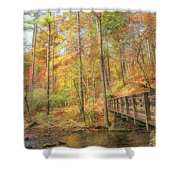 Abrams Falls Trailhead Shower Curtain
