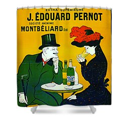 Absinthe Extra-superieure 1899 Shower Curtain by Padre Art