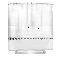 Absolut  Shower Curtain by Jorge Maia