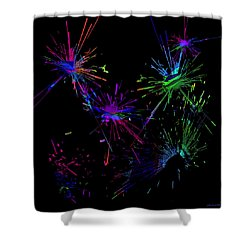 Abstact 392 Shower Curtain by Judi Suni Hall
