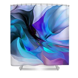 Abstract 012513 Shower Curtain by David Lane