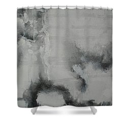 Abstract #03 Shower Curtain