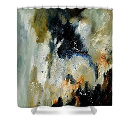 Abstract 070808 Shower Curtain by Pol Ledent