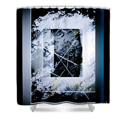 Abstract 1001-2016 Shower Curtain