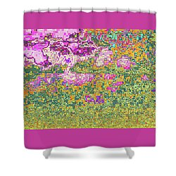 Abstract 1001 Shower Curtain