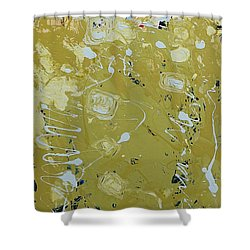 Abstract 1014 Shower Curtain