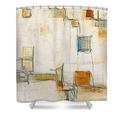 Abstract 1207 Shower Curtain