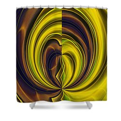 Abstract 121510 Shower Curtain