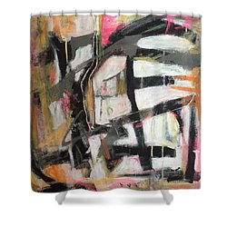 Abstract 1230-16 Shower Curtain by Shelley Graham Turner