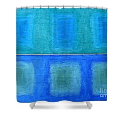 Abstract 184 Shower Curtain by Patrick J Murphy