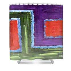 Abstract 200 Shower Curtain by Patrick J Murphy