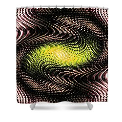 Abstract 213 Shower Curtain