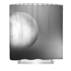 Abstract 216-2014 Shower Curtain by John Krakora