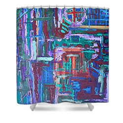 Abstract 27 Shower Curtain by Patrick J Murphy