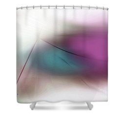 Abstract 300-2016 Shower Curtain