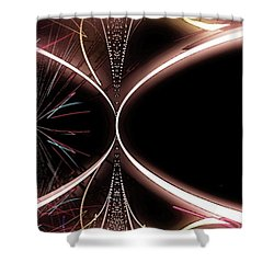 Abstract 302-2015 Shower Curtain