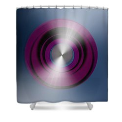 Abstract 3035-8 Shower Curtain