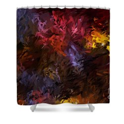 Abstract 5-23-09 Shower Curtain by David Lane